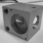 aluminium housing for the laser and electronics industry - Anodised