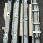 CNC machined aluminium heat exchanger headers